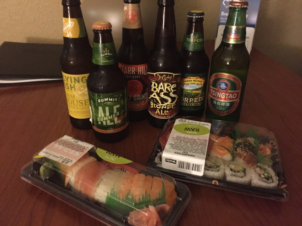 sushi-beer
